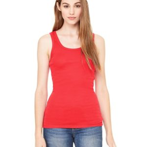 Bella Women's Sheer Mini Rib Tank Thumbnail